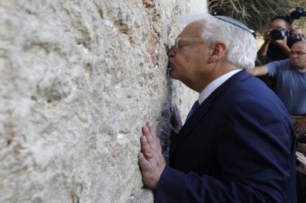 الخارجية الفلسطينية: السفير الأمريكي لدى إسرائيل يتصرف كمستوطن