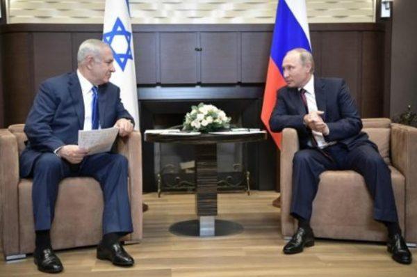 """روسيا: اتصالات مع إسرائيل لتفادي تكرار حادثة إسقاط الطائرة """"إيل 20"""" في سوريا"""