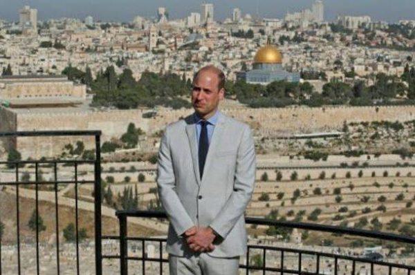تفاصيل زيارة الأمير وليام إلى المسجد الأقصى والقدس
