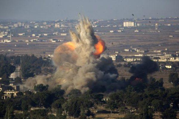 قصف إسرائيلي على جنوب سوريا
