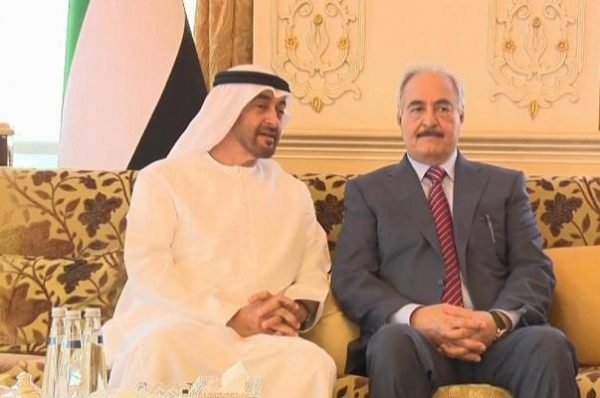 الإمارات تطلق حملة تحريض واسعة على حكومة الوفاق الوطني الليبية لإنقاذ حليفها خليفة حفتر