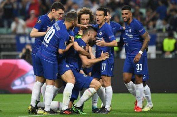 تشيلسي يتغلب على آرسنال في نهائي الدوري الأوروبي بأربعة أهداف مقابل واحد