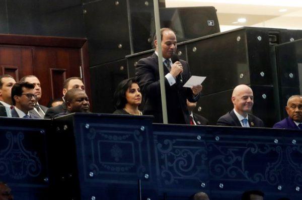 كيف سخر مشجعو استاد القاهرة من صوت السيسي خلال افتتاح بطولة أفريقيا
