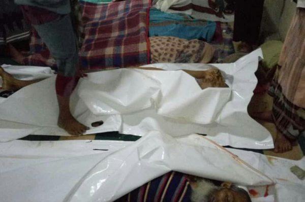 سام للحقوق و الحريات تنشر تقريراً حول قيام قوات الحزام الأمني بإعدام 5 يمنين في المسجد