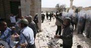 قوات الاحتلال تدنس مسجداً في العيسوية