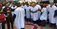 تصعيد اضراب الأسرى المحررين المقطوعة رواتبهم ضد السلطة