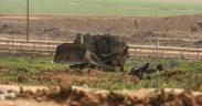 اعتداءات بالضفة وتوغل عسكري محدود بغزة