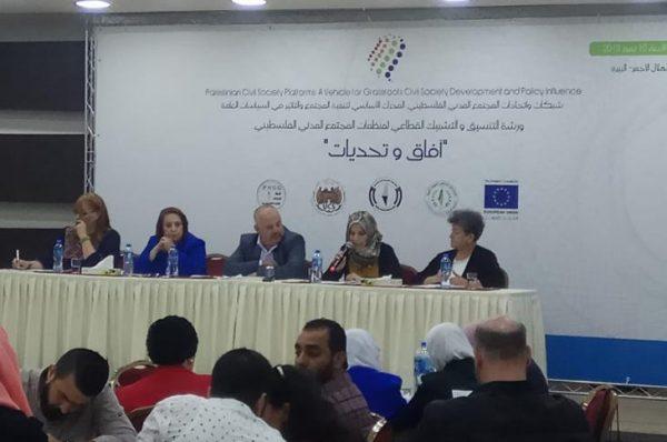 مؤسسات المجتمع المدني الفلسطيني ضد التمويل المشروط