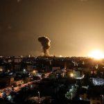 أغارت طائرات الاحتلال علي عدة مواقع للمقاومة الفلسطينية في قطاع غزة