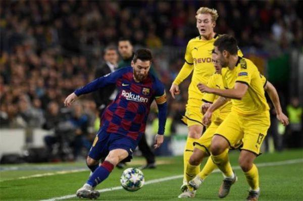 ميسي يسجل أهدافه في المباراة 700 مع برشلونة وتأهل برشلونة إلى دور الستة عشر