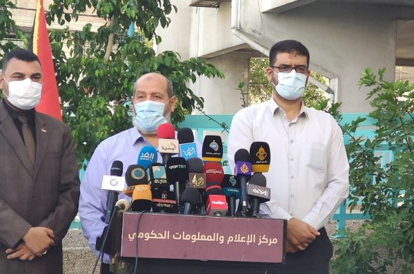 قطاع غزّة: 29 إصابة جديدة بكورونا لعائدين للقطاع ودراسة منع التجوال
