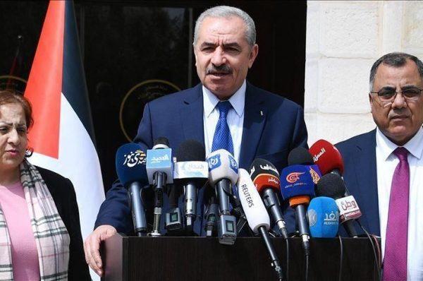 الحكومة الفلسطينية تدعو العالم للاعتراف بدولة فلسطينية ردًّا على الضمّ المُرتقب
