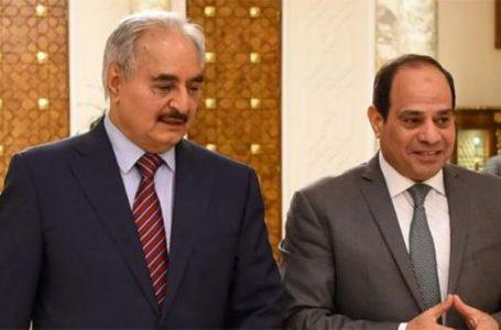 القاهرة تطلق مبادرة سياسية  لإنقاذ حفتر من هزائمه في المتلاحقة في ليبيا