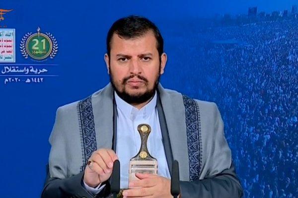 الحوثي : كل ما تقوم به السعودية والإمارات هو لخدمة الولايات المتحدة وإسرائيل