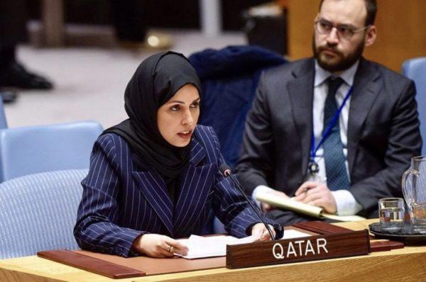 قطر : لابديل عن تسوية سلمية للقضية الفلسطينية وتؤكد وقوفها بجانب لبنان