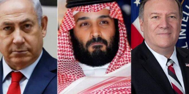 كشف نتنياهو لزيارته للسعودية