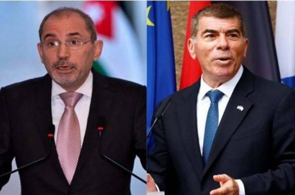 الصفدي يلتقي بوزير الخارجية الإسرائيلي ويؤكد أنه لابديل عن حل الدولتين