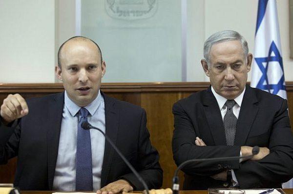نتنياهو يجتمع مع بينيت في محاولات لضمه إلى حكومته وإقناعه بعدم المشاركة في حكومة يسارية