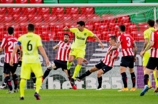 بالفيديو هزيمة أتليتيكو مدريد أمام بيلباو  تشعل صدارة الدوري الإسباني