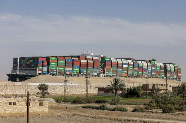 """محكمة مصرية ترفض طعناً باحتجاز سفينة الحاويات """"إيفر غيفن"""" في قناة السويس"""