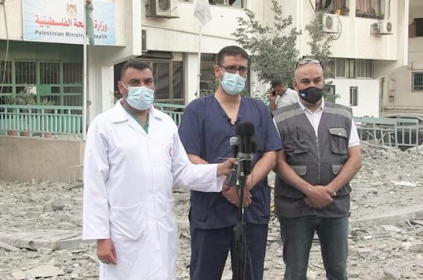 قصف مقر طبي و الصحة الفلسطينية تطالب بحماية دولية الكوادر الطبية ومؤسساتها