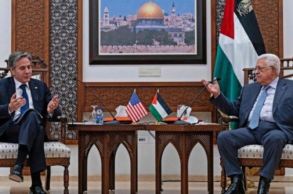 بلينكن : واشنطن ستعيد فتح سفارتها بالقدس المحتلة المسؤولة عن علاقاتها مع الفلسطينين