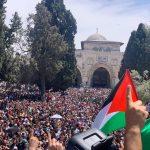 رغم قيود الاحتلال .. ألف مصلى حضر صلاة الجمعة في المسجد الأقصى