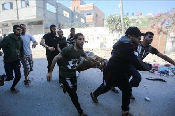 ارتفاع عدد الشهداء والمصابين جراء القصف الإسرائيلي المتواصل على قطاع غزة