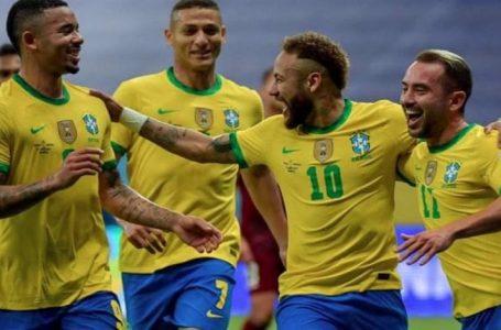 منتخب البرازيل يستهل مشواره في كوبا أميركا بالفوز بثلاثية على فنزويلا