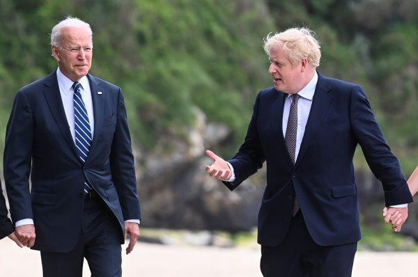 """بعد أول لقاء..بوريس جونسون يقول بأن علاقة بريطانيا بالولايات المتحدة """"غير قابلة للتدمير"""""""