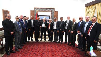 عباس يستقبل رؤساء الجامعات الفلسطينية