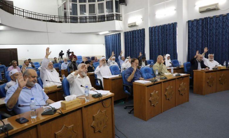 المجلس التشريعي يطالب الاونروا بالغاء اتفاقية الاطار